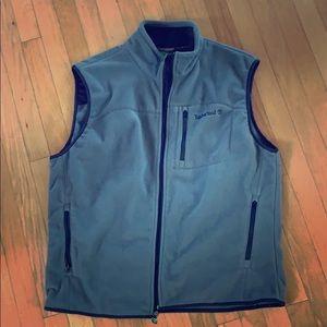 Grey Timberland Fleece Vest | XL | EUC